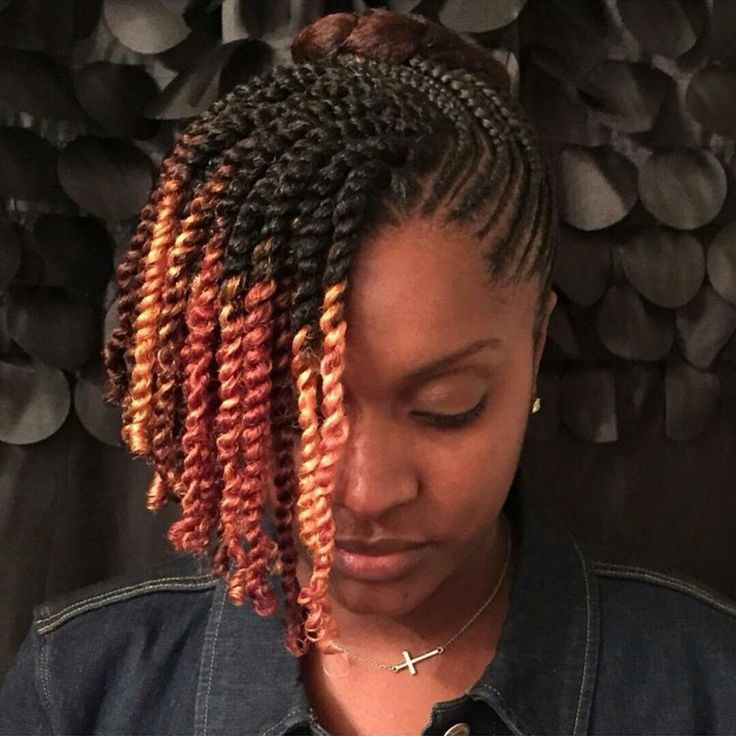 17 Best Images About Hurr On Pinterest Ombre Dreads And Two Strand Twists With Extensions Stranded Twist Work Natural Hair