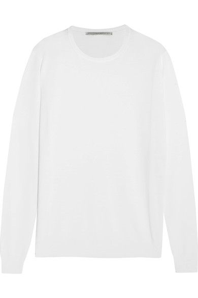 Stella McCartney - Wool Sweater - White