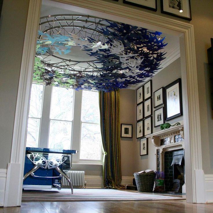 """Oxford Swallows"" (2012) United Kingdom  #sculpture #art #installationart #fineart #stainlesssteel #plexiglass #installation #oxford #swallows #artist #capetown #creative #inspiration"