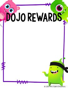 Remember when I posted about how I use Class Dojo in my classroom and I shared my Class Dojo Rewards Menu (pictured above)? Well if you d...