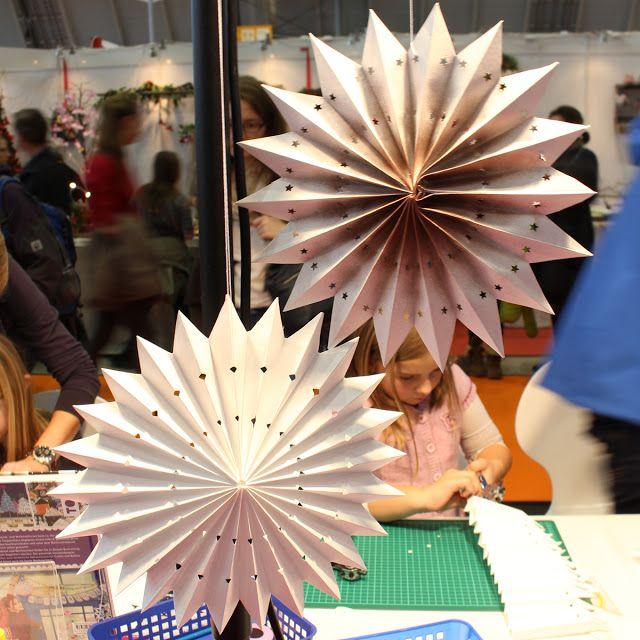 4 Freizeiten: Mein Besuch auf der Kreativ-Messe in Stuttgart ... Papierstern