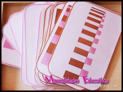PRINTABLE - Pink Tower/Brown Stair Extensions