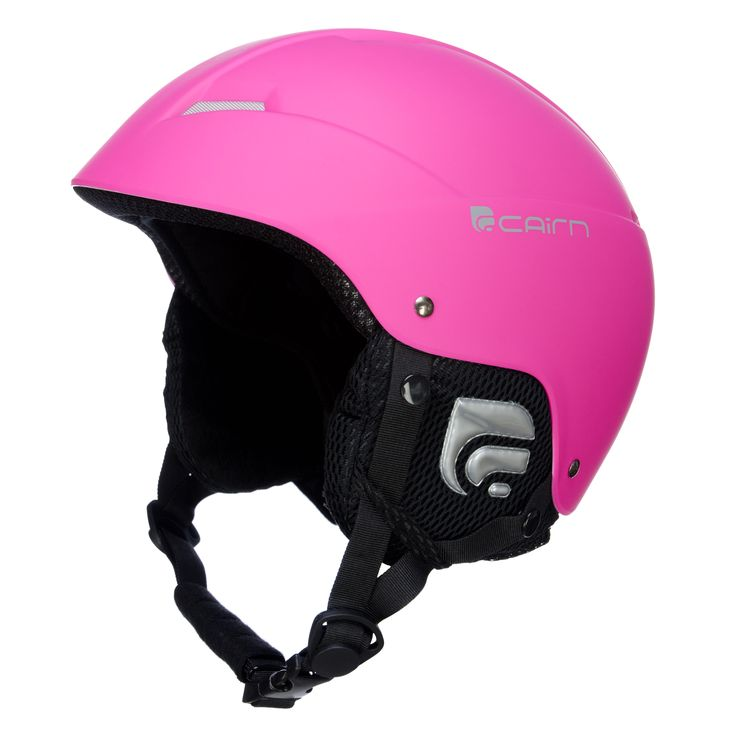 Cairn Andromed ski helmet, matt fluo pink Striking fluo ski helmet When wearing this ski helmet, everyone will see you. The size of the helmet is adjustable and the ear pads are removable. The ABS shell protects your head against injuries.  The lining is hypoallergenic and removable, so you can wash it easily.