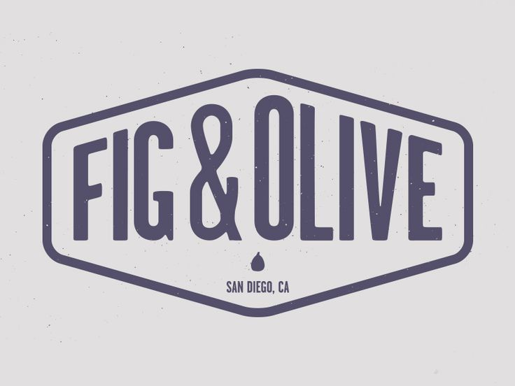 Dribbble - Fig & Olive logo concept by Vanessa