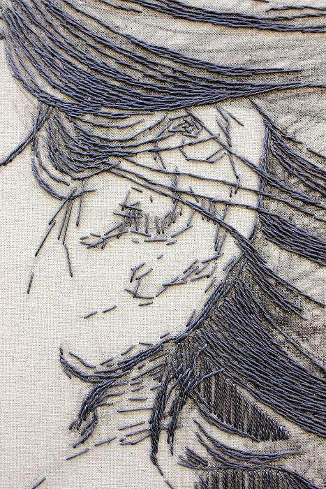 Embroidery by Ilaria Margutti.