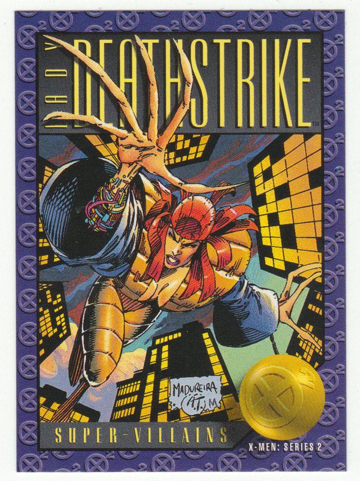 X-Men Series 2 - Lady Deathstrike # 67 Skybox 1993