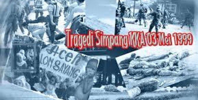 commemoratting 15 years of mass slaughter in simpang KKA aceh