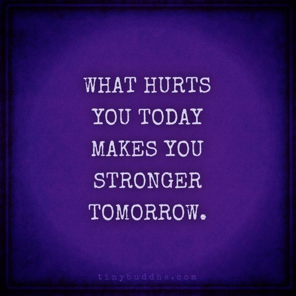What hurts you today
