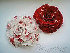 vörös, piros, fehér, föttyös, Bazsarózsa, rózsa, kitűző