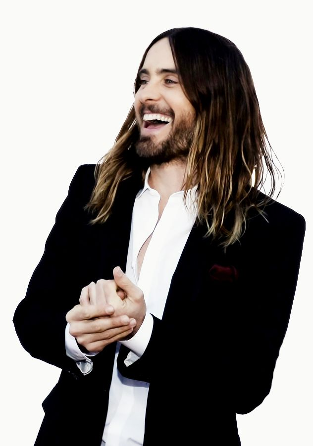 jared leto. Im sorry but he can work that long hair like its nobody's business.