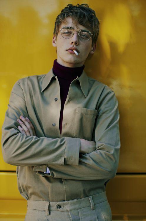 themenissue: Photo Fanny Latour Lambert Styling Luca Roscini Model Billy Vandendooren for Style Magazine Italia
