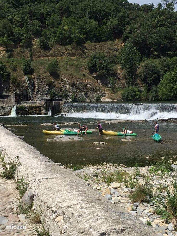 Kanoën op de Ardèche