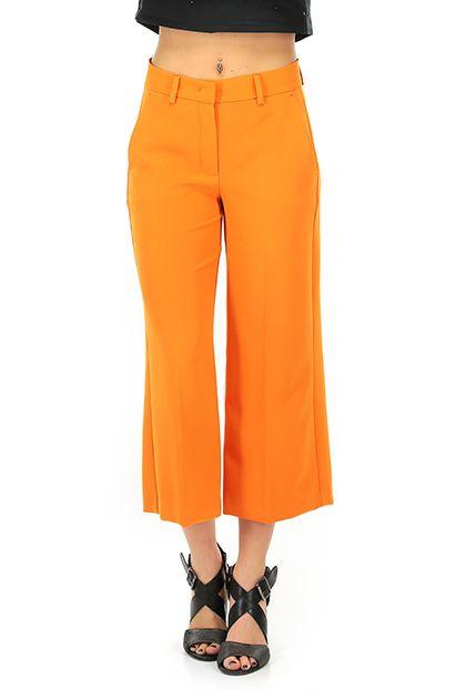Hanita - Pantaloni - Abbigliamento - pantaloni al polpaccio, con tasche laterali ed a filetto sul retro.  La nostra modella indossa la taglia /EU 40. - ARANCIO - € 115.00