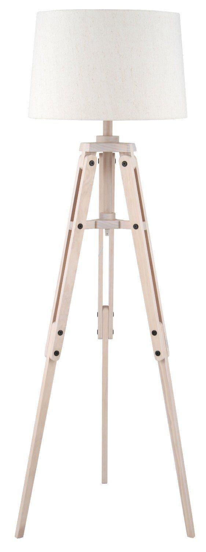 Pacific Lighting 4072-C Wood Tripod and Jute Floor Lamp Complete: Amazon.co.uk: Kitchen & Home