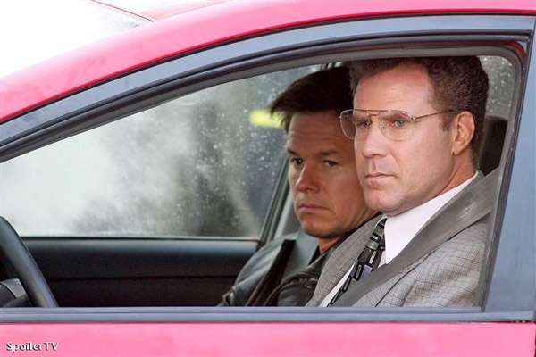 Will Ferrell And Mark Wahlberg In The Prius The Other Guys