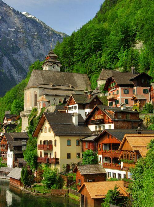 Hillside Village, Hallstatt, Austria