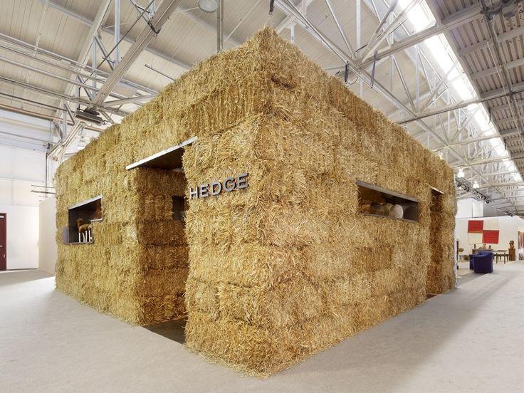 *볏짚 파빌리온 [ Rael San Fratello Architects ] Straw Gallery For HEDGE