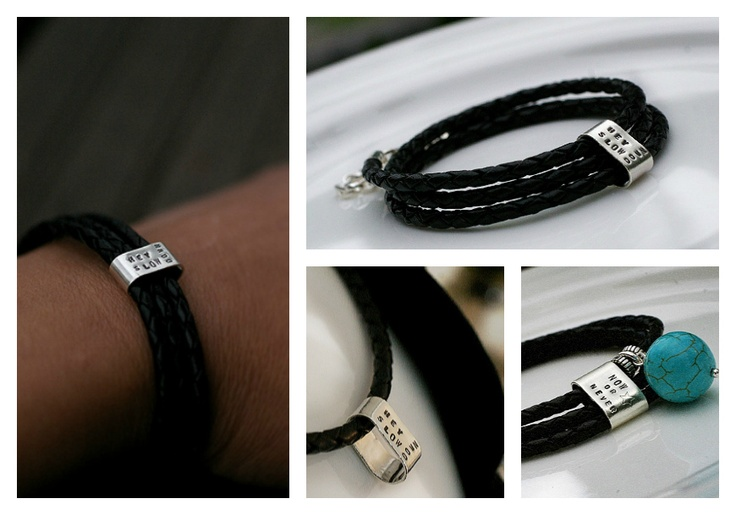 Hey Slow Down ( leather ) #bracelet. #Handmade by #Pako #korut.