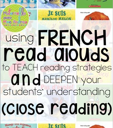 Using French read-alouds to teach reading strategies
