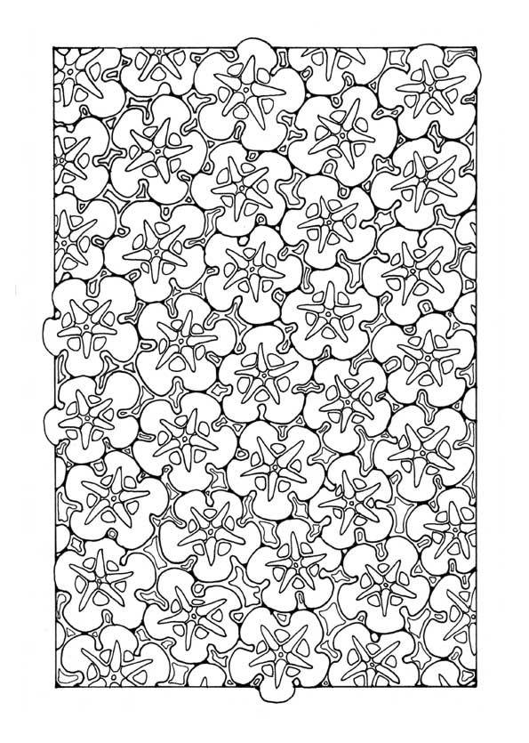Dandimeuk Hi Res Pattern Coloring PagesAdult