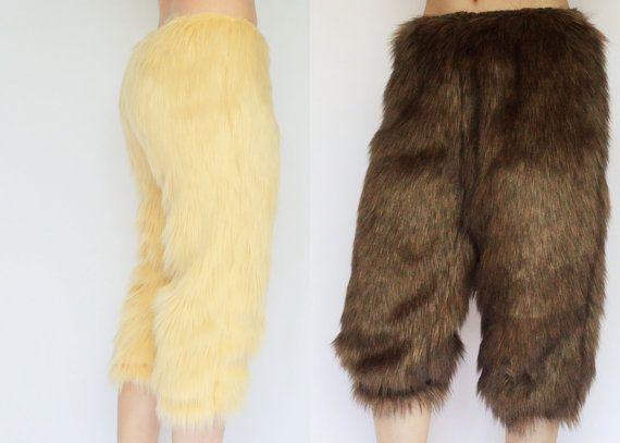 Faun Costume Pants FREE SHIPPING Faun Costumes, Baphomet Fur Pants, Satyr Cosplay, Faun Fur, Baphomet Costumes, Faun Costume, Satyr Costumes