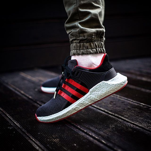 adidas EQT Support 9317 Red Carpet Pack Black | Adidas