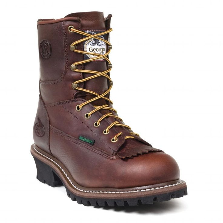 Georgia Logger Boot   Style 7113 12M
