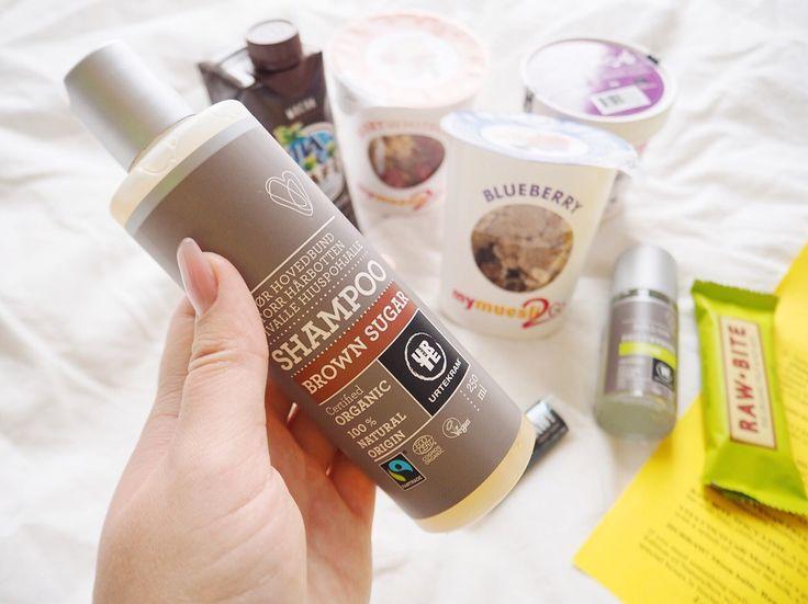 Fitness by Therese: Brown Sugar & Lime #naturalbox #urtekram #subscription #subscriptionbox #veganskincare