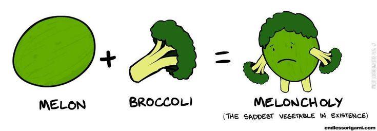 The saddest vegetable