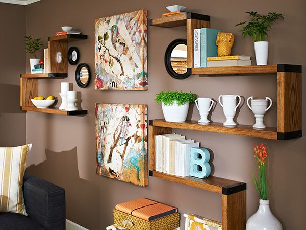 Build a set of shelves that has it all: great looks, storage, and the ability to adapt to fit your needs and your space.