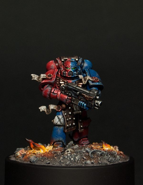 Warhammer 40k | Space Marines | Tactical Space Marine #warhammer #40k #40000…