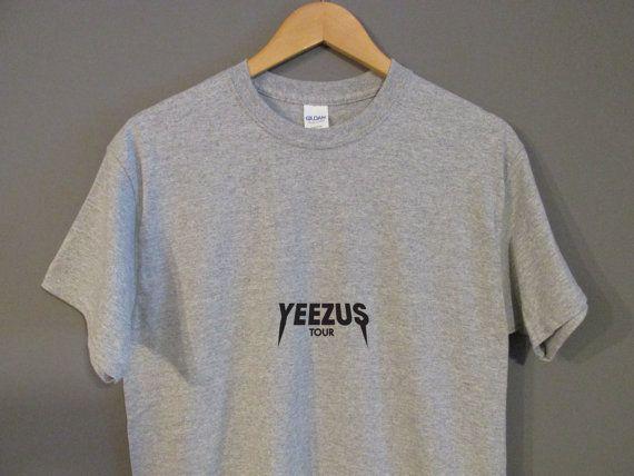 Kanye West Yeezus Tour Logo T-Shirt The Life of Pablo I Feel