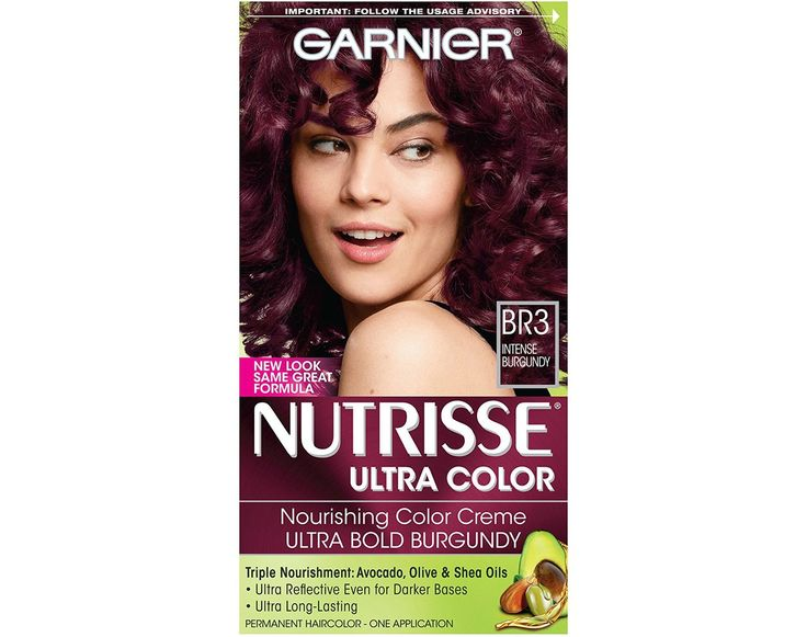 The 7 Best Hair Dyes For Natural Hair That Maintain Moisture And Shine: Garnier Nutrisse Ultra Color, $6-$8, Amazon    Delivering color with a hydrating boost, Garnier's Nutrisse Ultra Color collection boasts some of the best moisture-rich ingredients. Get triple nourishment any natural textured diva could surely use from avocado, olive, and shea oils.    This hair color is available in 23 shades, all designed to create vibrant results on dark hair.