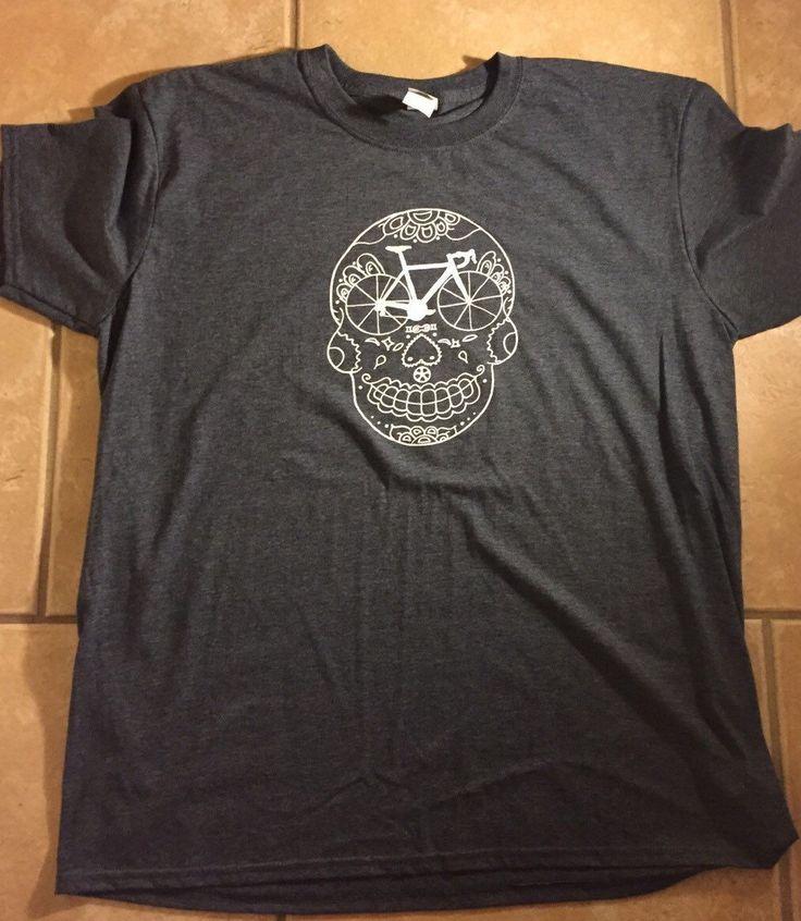 A personal favorite from my Etsy shop https://www.etsy.com/listing/260879724/mens-road-bike-gift-t-shirt-sugar-skull