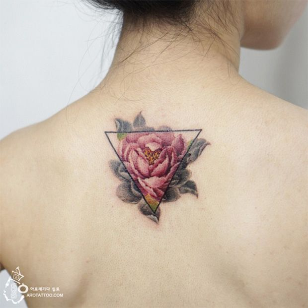 #tattoofriday - tatuagens delicadas sem contorno aquarela - Silo Tattooist; …