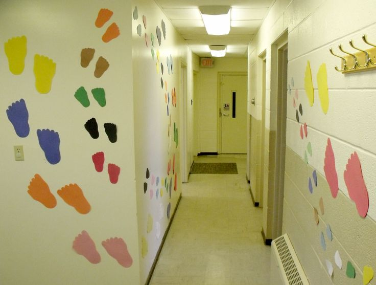 23 best School Hallway Ideas images on Pinterest | School murals ...