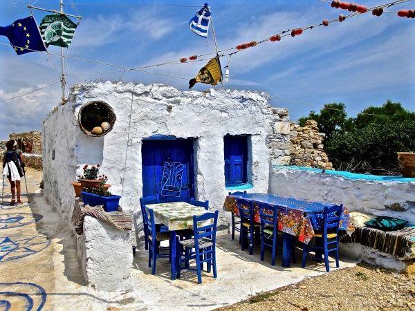 Nice taverna in Kato Koufonissi island