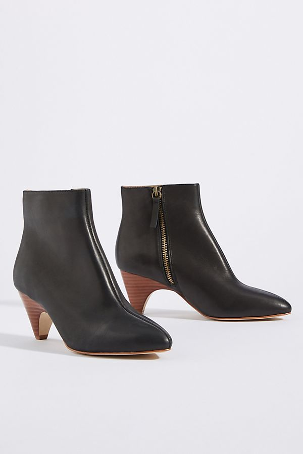 5a0b7ac63cb M4D3 Hoya Kitten-Heeled Booties in 2019