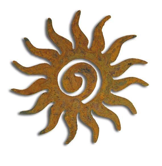 Sun Garden Stake Or Metal Wall Art