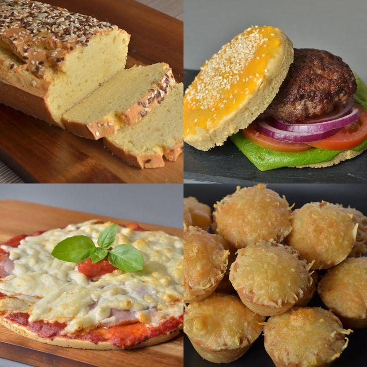 Paleo kenyér, zsemle, pogácsa és pizza recept (csökkentett kalória és sz...