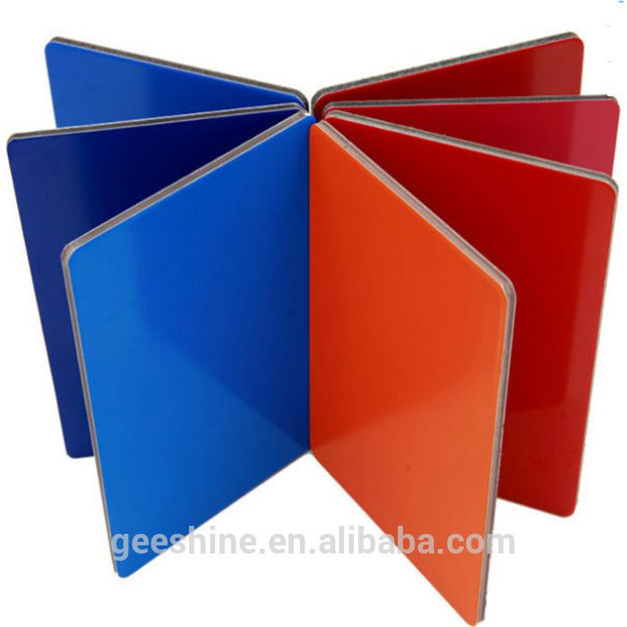 Cheap price good quality Aluminum plastic compsite panel for wall cladding