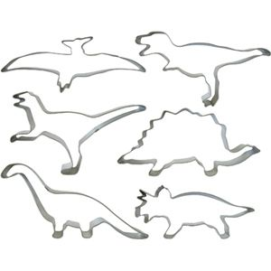 Dinosaur Cookie Cutters #pinparty