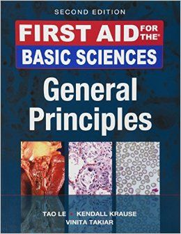 14 best medical school usmle step 1 images on pinterest medical first aid for the basic sciences general principles second edition first aid series a book by tao le kendall krause fandeluxe Image collections