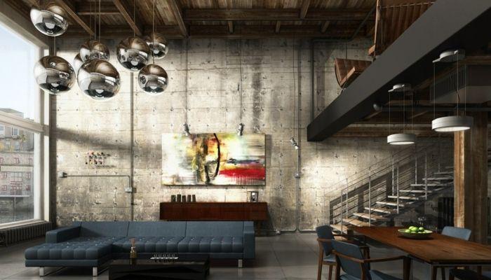 25 best ideas about poutre m tallique on pinterest loft - Meuble effet beton ...