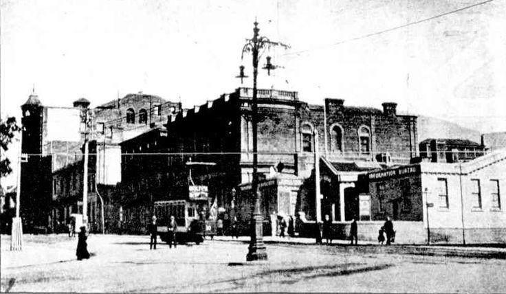 Macquarie Street, Hobart, 1917