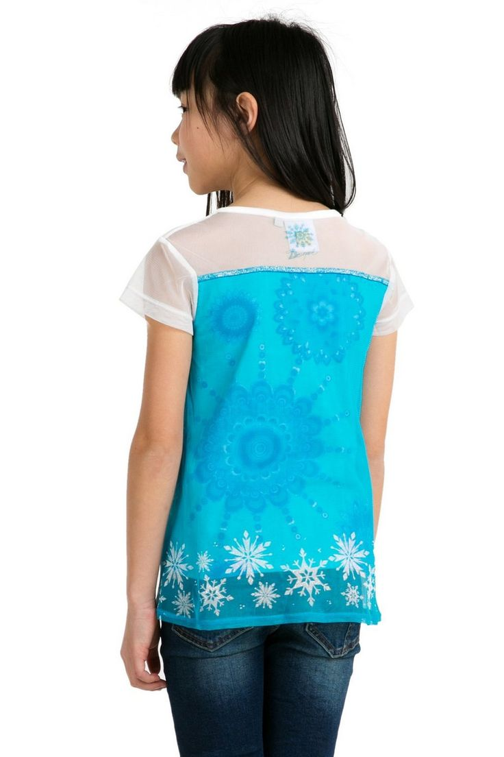 Camiseta Frozen con capa | Desigual Granate B