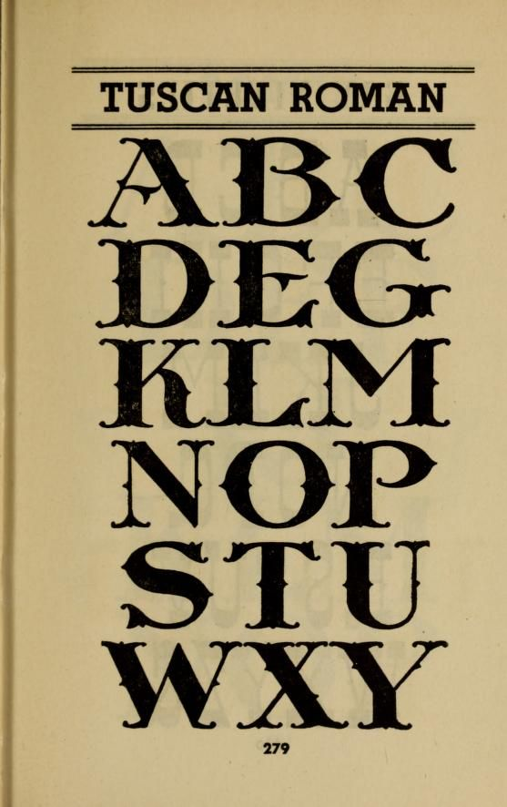 The Latin alphabet