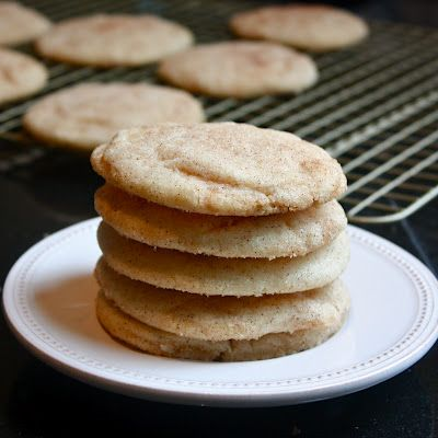 Best Ever Snickerdoodles - a thin, crunchy cinnamon-sugar exterior and a soft, chewy, melt-in your mouth center -- just the way I like them.