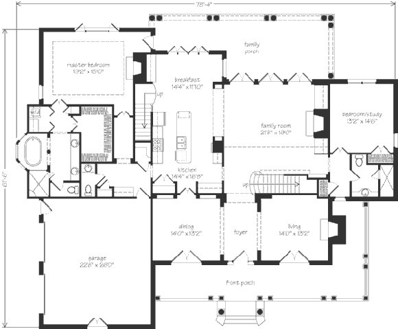 105 best cool floor plans images on pinterest for Homes without dining rooms