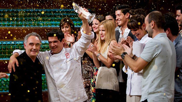 Juan Manuel, primer MasterChef de España. Felicidades!!